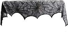 18x96 Inch Lace Spider Web Cobweb Halloweens