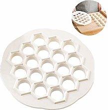 19-holes Dumplings Maker Mold Tools Plastic