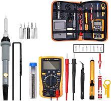 19 in 1 Electric Soldering Iron Multimeter Set 60W