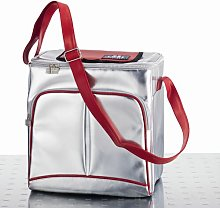 19 L Cooler in Silver and Red Symple Stuff