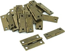 19 Pcs Bronze Tone Metal Cabinet Drawer Door Butt