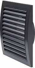 190 x 190mm / 125mm Anthracite Black 7.5x7.5 / 5