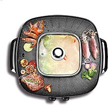 1900W Electric Teppanyaki Grill for Camping, Ideal