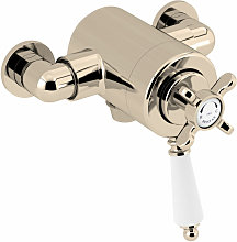 1901 Exposed Concentric Shower Valve Only - Gold -