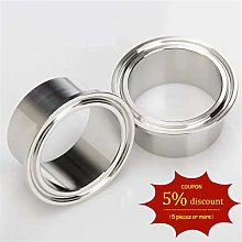 19MM-89MM OD 1Pc SS304 Stainless Steel Sanitary