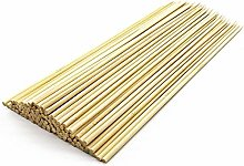 1ABOVE 150 Pieces Natural Wooden Skewers for