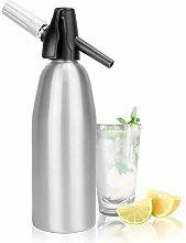 1L Aluminium Soda Siphon | Fizz Maker | Soda