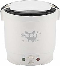 1L Mini Rice Cooker Steamer, 170W Electric Food