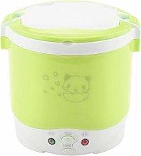 1L Mini Rice Cooker Steamer, 170W Electric Food