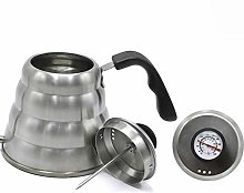1l Stainless Steel Coffee Pot with Thermometer