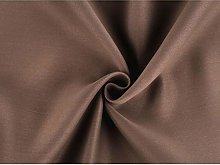 1m (12) Brown Coffee Blackout Curtain Fabric Width