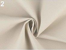 1m 2 Ecru Upholstery Leatherette, and Imitation,