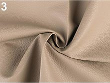 1m 3 Beige Upholstery Leatherette, and Imitation,