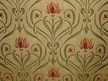 1m Art Nouveau Tiffany Soft Gold Thick Designer