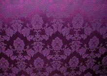 1m Cadburys Purple Madagascar Designer Curtain