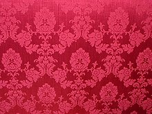 1m Cerise Pink Madagascar Designer Curtain Brocade