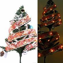 1M Christmas Ribbon Night Light, Christmas Tree