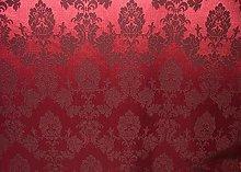 1m Morello Cherry Red Madagascar Designer Curtain