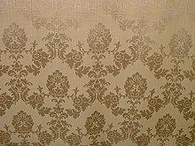 1m Oyster Madagascar Designer Curtain Brocade