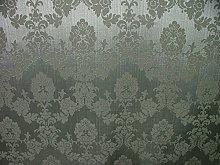 1m Platinum Silver Madagascar Designer Curtain