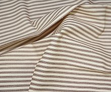 1m | Quality Brown Striped Coloured Tight Woven