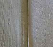 1m x 1.4m Of AestheTex White Vinyl Fabric - Ideal
