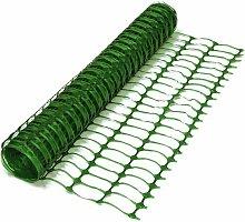 1m x 1m Green Barrier mesh garden fence Heavy Duty