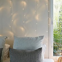 1m x 1m Indoor Curtain Fairy Lights with 40 Warm