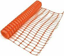 1m x 1m Orange Barrier mesh garden fence Heavy