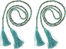 1Pair Curtain Strap Tassel Curtain Tiebacks Rope