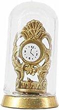 1Pc 1:12 Mini Vintage Clock Model Dollhouse