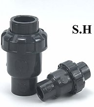 1Pc 20 25 32 40 50Mm Check Valve PVC Pipe Fittings