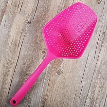 1Pc 5Colors Cooking Shovel Vegetable Filter Spoon