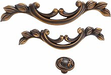 1pc Antique Coffee Furniture Handles Rustic Drawer