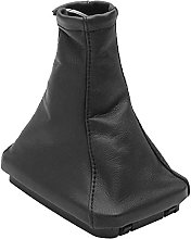 1PC Black Car Leather Shift Boot Cover Fit for