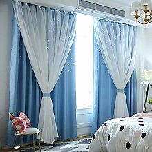 1PC Curtains For Living Room, Blackout Curtains