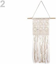 1pc Ecru Light Macrame Boho Decoration to Hang,