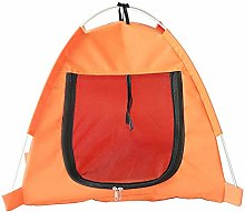 1Pc Foldable Pet Tent Dog Cat House Outdoor Indoor