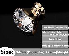 1PC Home Kitchen Decor Modern Diamond Crystal
