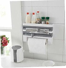 1pc Kitchen Paper Towel Holder Plastic Tower