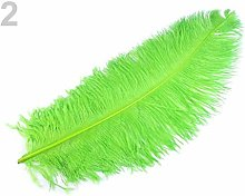 1pc Light Green Ostrich Feathers 60cm, and