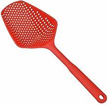 1Pc No-Stick Plastic Scoop Colander Spoon