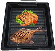 1PC Non-Stick BBQ Grill Plate Stove Top Grill