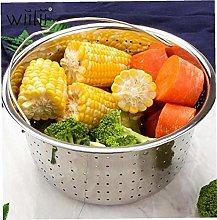 1pc Nonstick Sturdy Steamer Basket Stainless Steel