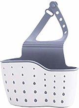 1pc Portable Basket Home Kitchen Hanging Drain