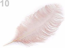 1pc Powder Ostrich Feathers 60cm, and Featherlets,