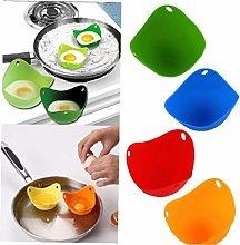 1pc Silicone Egg Poacher Cook Poach Pods Kitchen