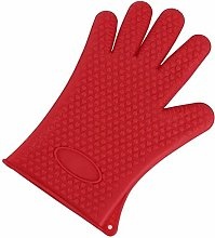 1pc Silicone Glove Kitchen Heat Resistant Gloves