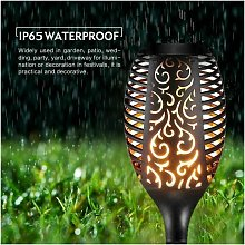 1pc Solar Flame Effect Torch Light
