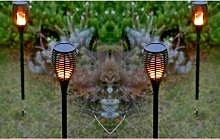 1pc Solar Flame Effect Torch Lights
